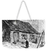 New York: Shanty, 1875 Weekender Tote Bag