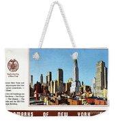 New York: Skyscrapers Weekender Tote Bag