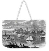 New York State: Hotel, 1862 Weekender Tote Bag