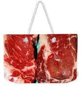New York Steak Raw Weekender Tote Bag