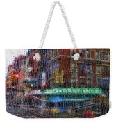 New York Street Weekender Tote Bag