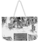 New York: Wash Day, 1889 Weekender Tote Bag