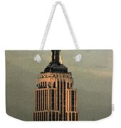 New York Watercolor 1 Weekender Tote Bag