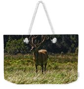 New Zealand Elk Weekender Tote Bag