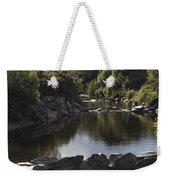 Newcastle, Shimna River, Co Down Weekender Tote Bag