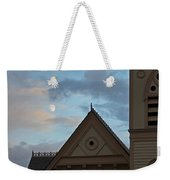 Newman United Methodist And Moon Weekender Tote Bag