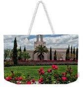 Newport Beach Temple Roses Weekender Tote Bag