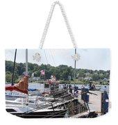 Newport Vermont Marina Weekender Tote Bag