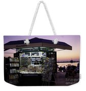 Newsstand In Croatia Weekender Tote Bag