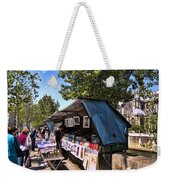 Newstand Along The Seine Weekender Tote Bag
