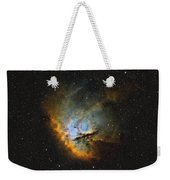 Ngc 281, The Pacman Nebula Weekender Tote Bag by Rolf Geissinger