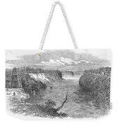 Niagara Falls, 1849 Weekender Tote Bag