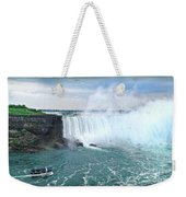 Niagara Falls And The Bubbles Weekender Tote Bag