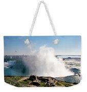 Niagara Falls From Above Weekender Tote Bag