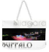 Niagara Falls Postcard Weekender Tote Bag