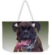 Nice Doggy Weekender Tote Bag
