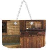 Nice Old Door Weekender Tote Bag