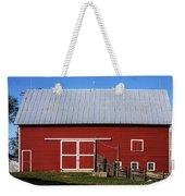 Nice Red Barn Weekender Tote Bag
