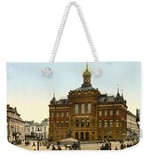 Nicolaus Copernicus Monument In Warsaw Poland Weekender Tote Bag by International  Images