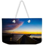 Night Approaches Weekender Tote Bag