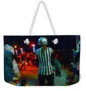 Night At The Roller Derby Weekender Tote Bag