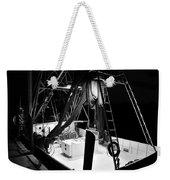 Night Boat Weekender Tote Bag