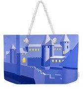 Night Castle Weekender Tote Bag