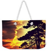 Night Falls Weekender Tote Bag