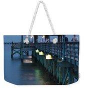 Night Fishing Weekender Tote Bag