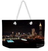 Night Lights Of Atlanta Weekender Tote Bag