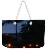 Night Lights On The Mountain Weekender Tote Bag