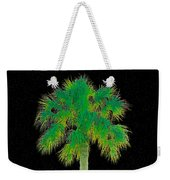Night Of The Green Palm Weekender Tote Bag