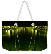 Night. One Day In Paradise. Maldives Weekender Tote Bag by Jenny Rainbow