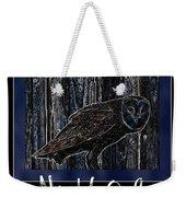 Night Owl Poster - Digital Art Weekender Tote Bag