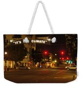 Night Scene At 6th And G Weekender Tote Bag