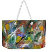 Night Songs Weekender Tote Bag