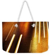 Night Traffic Weekender Tote Bag by Carlos Caetano