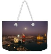 Night View Of Amritsar Weekender Tote Bag