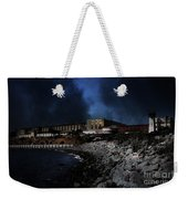 Nightfall Over Hard Time - San Quentin California State Prison - 5d18454 Weekender Tote Bag