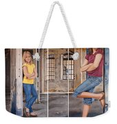Nina And Francis 2 Weekender Tote Bag