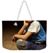 Nine Years Old Weekender Tote Bag