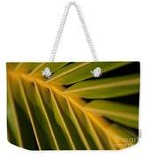 Niu - Cocos Nucifera - Hawaiian Coconut Palm Frond Weekender Tote Bag