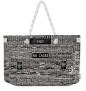 No Cages Weekender Tote Bag