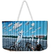 No Fossil Fuels Required Weekender Tote Bag