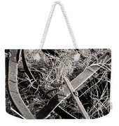 No More Plowing Weekender Tote Bag by Ron Cline