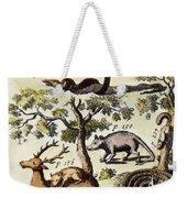 North America: Fauna Weekender Tote Bag