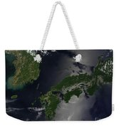 North And South Korea, And The Japanese Weekender Tote Bag