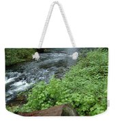 North Falls In Oregon Weekender Tote Bag