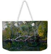 North Florida River Reflections Weekender Tote Bag
