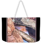 North Side Of Horseshoe Bend Weekender Tote Bag